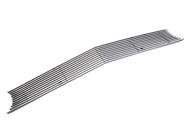 Modern Billet Upper Grille Overlay; Polished (15-21 All)