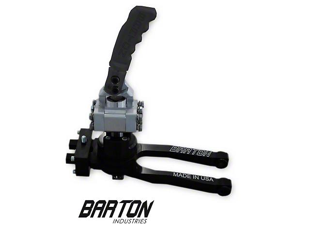Barton Short Throw Shifter with Black Pistol Grip Handle; TR-6060 (09-20 V8 HEMI)