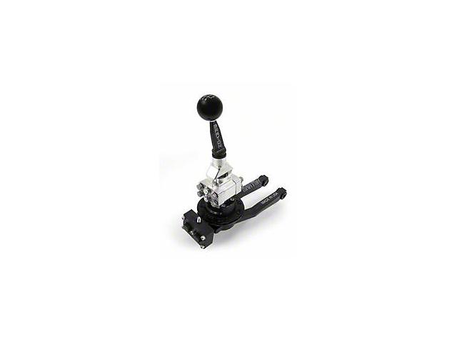 Barton Short Throw Shifter with Black Stick and Black Shift Knob; TR-6060 (09-20 V8 HEMI)