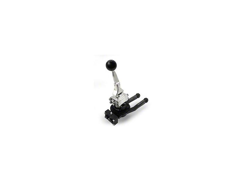 Barton Short Throw Shifter w/ Brushed Aluminum Stick & Black Shift Knob - TR-6060 (09-20 V8 HEMI)