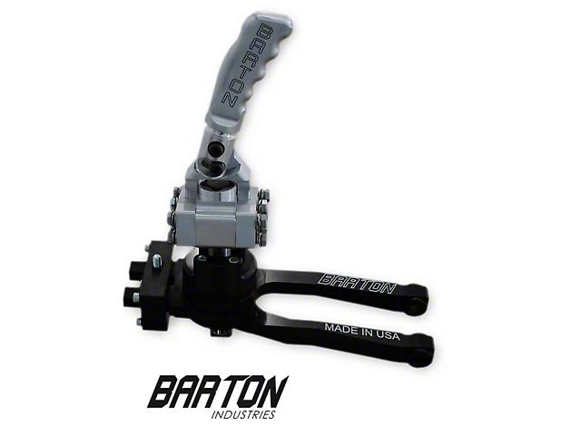 Barton Short Throw Shifter with Brushed Pistol Grip Handle; TR-6060 (09-20 V8 HEMI)