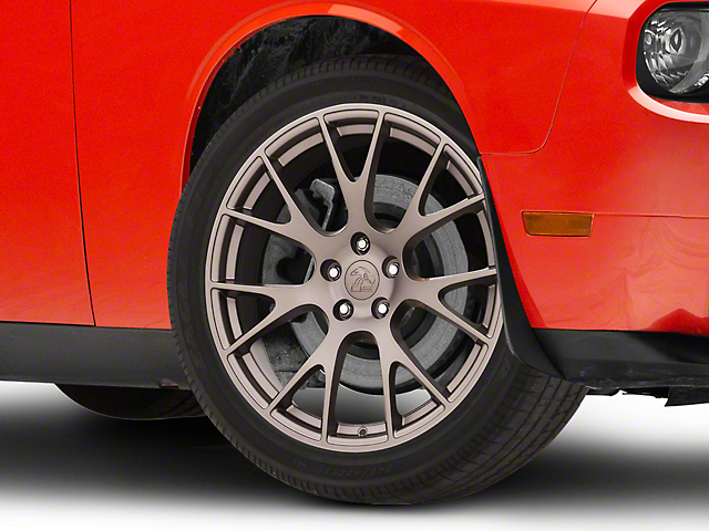 Hellcat Style Bronze Wheel; 20x9 (08-20 All, Excluding AWD)