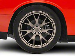 Hellcat Style Bronze Wheel; Rear Only; 20x10 (08-20 All, Excluding AWD)