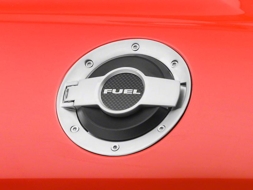 Scott Drake Fuel Door - Satin (08-14 All)