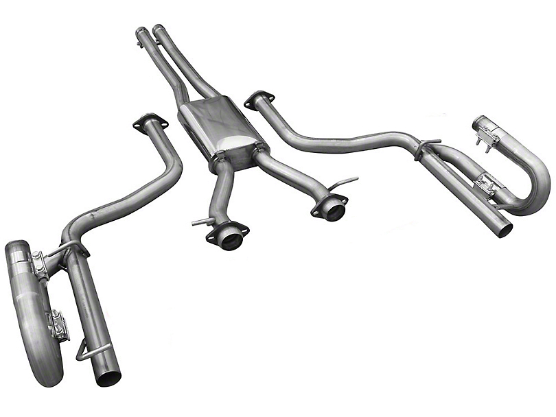 Solo Performance MACH XV Cat-Back Exhaust w/o Tips (15-19 3.6L)