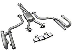 Solo Performance MACH XV Cat-Back Exhaust with Square Tips (15-20 3.6L)