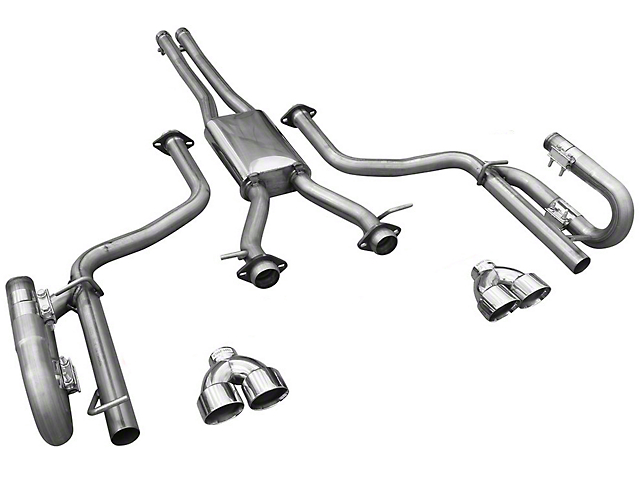 Solo Performance MACH XV Cat-Back Exhaust w/ Round Tips (15-19 3.6L)