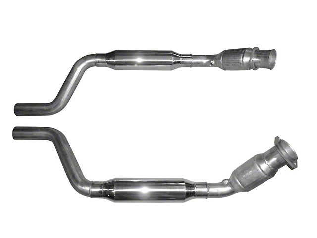 Solo Performance High Flow Catalytic Converters (09-14 5.7L HEMI)