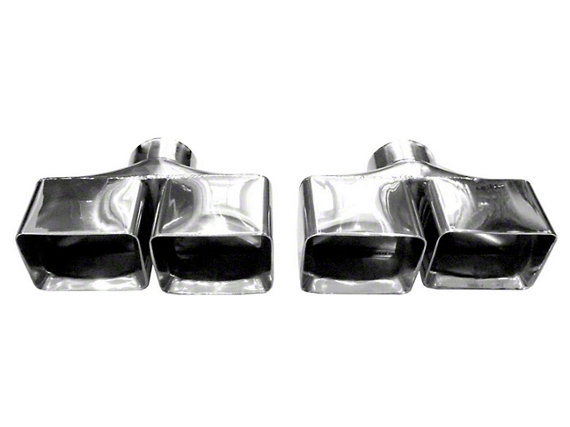 Solo Performance 2.50-Inch Weld-On Exhaust Tips (09-14 5.7L HEMI)