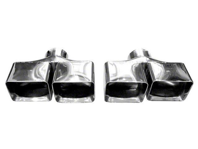 Solo Performance 3-Inch Weld-On Exhaust Tips (08-14 6.1L HEMI, 6.4L HEMI)