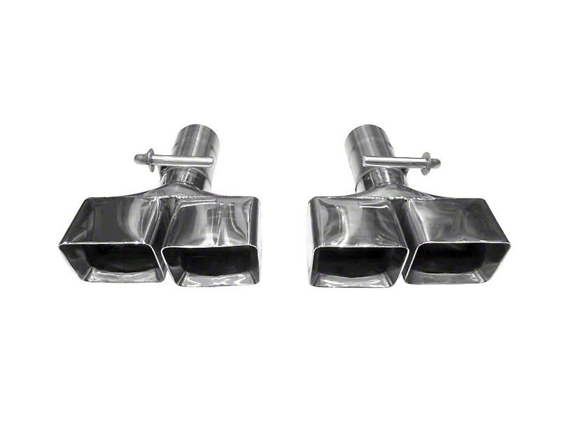 Solo Performance 3 in. Clamp-On Exhaust Tips (08-14 6.1L HEMI, 6.4L HEMI)