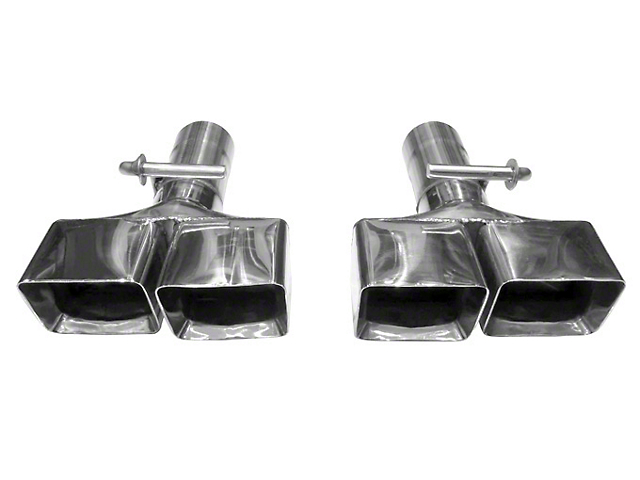 Solo Performance 3-Inch Clamp-On Exhaust Tips (08-14 6.1L HEMI, 6.4L HEMI)