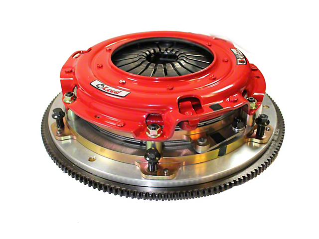 McLeod RXT Twin Disc 1000HP Ceramic Clutch Kit with Flywheel; 26 Spline (08-10 V8 HEMI; 13-20 V8 HEMI)