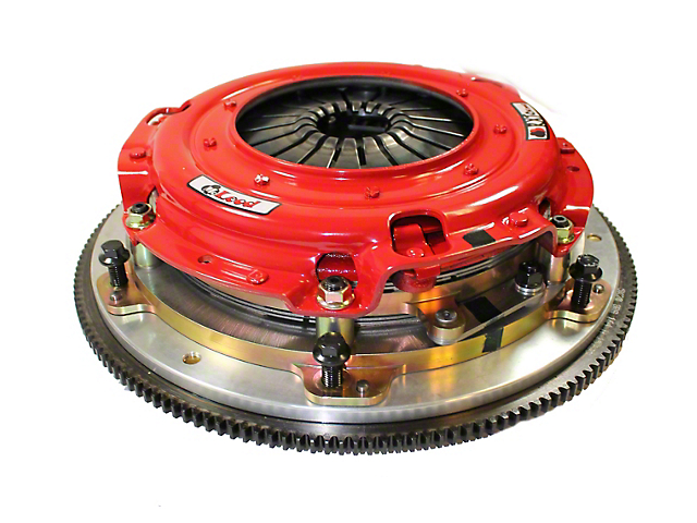 McLeod RXT Twin Disc 1200HP Ceramic Clutch Kit with Flywheel; 26 Spline (08-10 V8 HEMI; 13-20 V8 HEMI)
