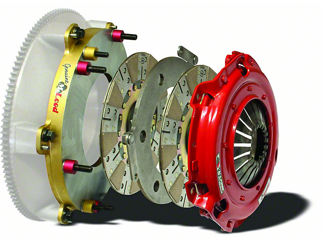 McLeod RXT Twin Disc 1200HP Ceramic Clutch Kit; 10 Spline (11-12 V8 HEMI)