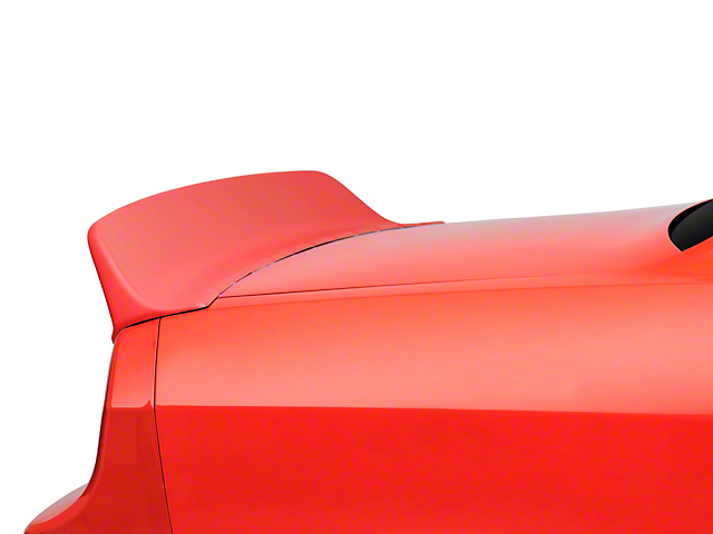 Clinched Flares Ducktail Rear Spoiler; Unpainted (08-20 All)