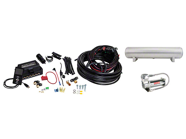 Air Lift Performance 3P Complete Air Suspension Kit; 1/4-Inch Lines (08-20 All, Excluding AWD)