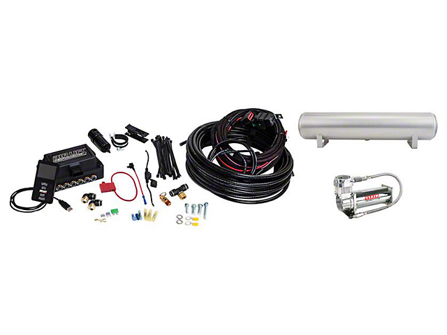 Air Lift Performance 3P Complete Air Suspension Kit; 3/8-Inch Lines (08-20 All, Excluding AWD)