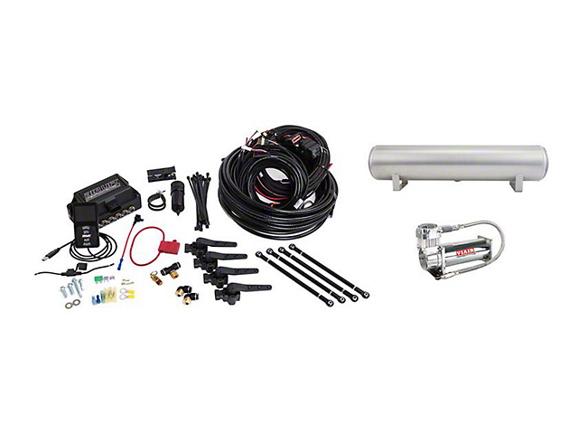 Air Lift Performance 3H Complete Air Suspension Kit; 1/4-Inch Lines (06-21 All, Excluding AWD)
