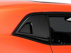 MP Concepts Quarter Window Scoops; Gloss Black (08-20 All)