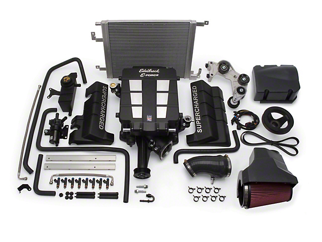 Edelbrock E-Force Stage 1 Street Supercharger Kit without Tuner (08-10 6.1L HEMI)