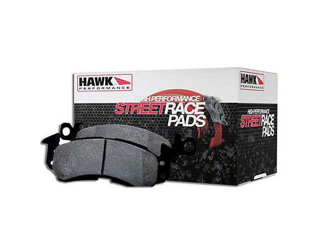 Hawk Performance Street/Race Brake Pads; Rear Pair (08-14 SRT8; 15-18 392, Demon, Hellcat, Scat Pack; 2018 R/T w/ Brembo Brakes, T/A w/ Brembo Brakes; 19-20 All)