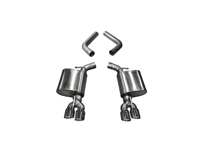 Corsa Sport Axle-Back Exhaust with Twin Polished Round Tips (17-20 5.7L HEMI)