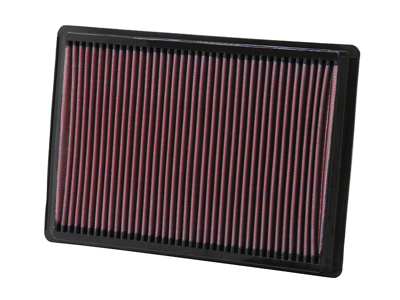 K&N Drop-In Replacement Air Filter (08-10 All)