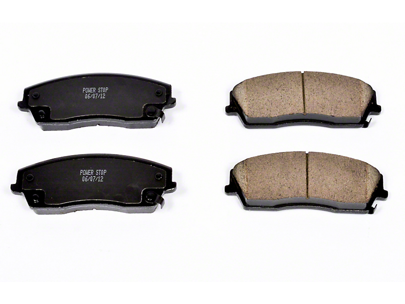 Power Stop Z16 Evolution Clean Ride Ceramic Brake Pads - Front Pair (09-10 SE; 11-20 SE, SXT w/ Single Piston Front Calipers)