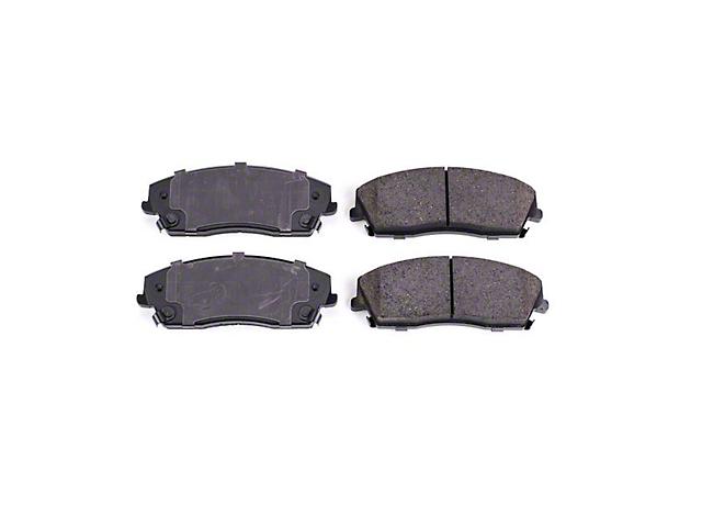 Power Stop Z16 Evolution Clean Ride Ceramic Brake Pads; Front Pair (09-10 SE; 11-20 SE, SXT w/ Single Piston Front Calipers)