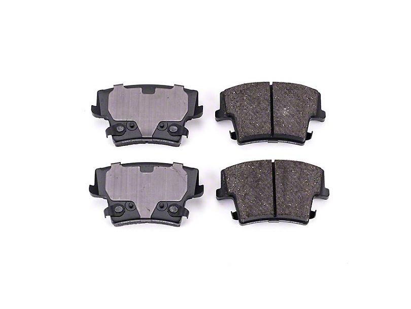 Power Stop Z16 Evolution Clean Ride Ceramic Brake Pads - Rear Pair (09-20 GT, Rallye Redline, R/T, SE, SXT, T/A)
