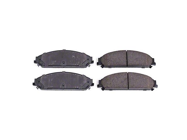 Power Stop Z16 Evolution Clean Ride Ceramic Brake Pads - Front Pair (09-20 GT, R/T, T/A; 11-20 SE, SXT w/ Dual Piston Front Calipers)