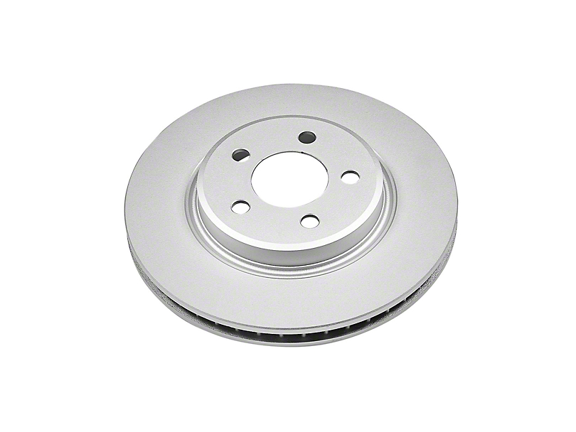 Power Stop Evolution Coated Rotor - Front (09-10 SE; 11-20 SE, SXT w/ Single Piston Front Calipers)