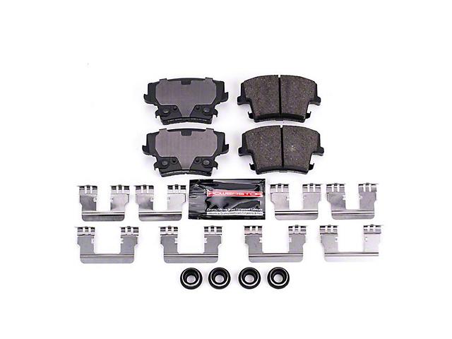 Power Stop Z23 Evolution Sport Ceramic Brake Pads; Rear Pair (09-20 GT, Rallye Redline, R/T, SE, SXT, T/A)