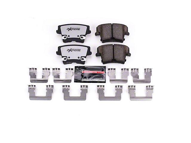 Power Stop Z26 Extreme Street Carbon-Ceramic Brake Pads; Rear Pair (09-21 GT, Rallye Redline, R/T, SE, SXT, T/A)