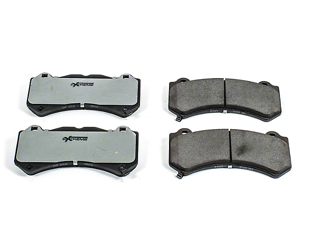 Power Stop Z26 Extreme Street Carbon-Ceramic Brake Pads; Front Pair (15-20 SRT 392, Hellcat)