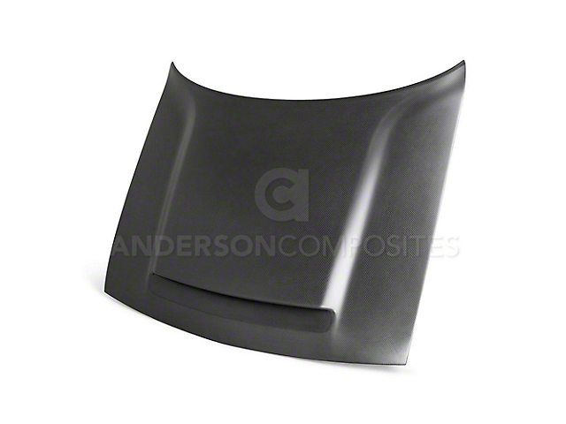 Anderson Composites Type-OE Demon Hood; Dry Carbon Fiber (08-20 All)