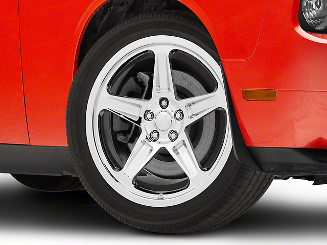 SRT Demon Style Chrome Wheel; 20x9.5 (08-21 All, Excluding AWD & Demon)
