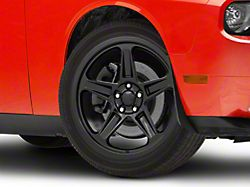 SRT Demon Style Gloss Black Wheel; 20x9.5 (08-20 All, Excluding AWD & Demon)