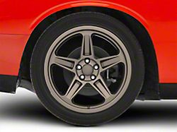 SRT Demon Style Bronze Wheel; Rear Only; 20x10.5 (08-21 All, Excluding AWD & Demon)