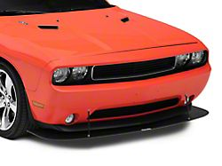 VZ Style Front Chin Splitter; Textured Black (08-14 All)