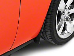 Mud Flaps; Front and Rear; Textured Black (15-20 All, Excluding Widebody)