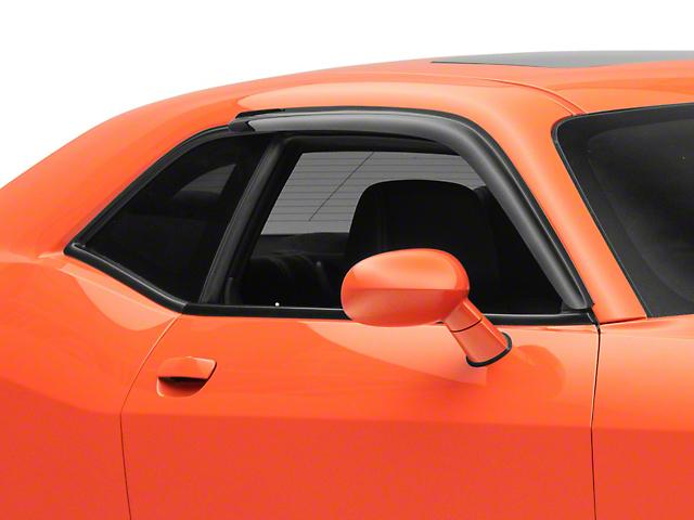 SpeedForm Window Deflectors; Smoked (08-21 All)