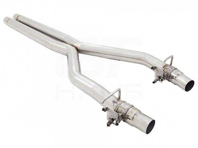 American Roar Stainless Resonator Delete X-Pipe (19-21 Hellcat Redeye w/ Active Exhaust)