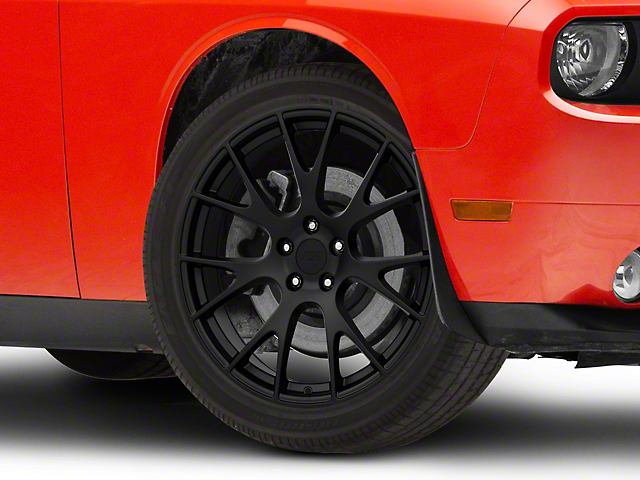 Hellcat Style Matte Black Wheel; 20x9 (08-20 All, Excluding AWD)