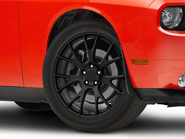 Hellcat Style Matte Black Wheel; 20x10 (08-20 All, Excluding AWD)