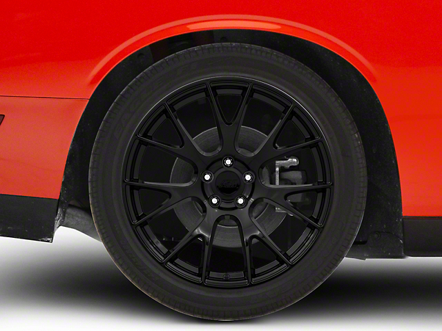 Hellcat Style Gloss Black Wheel; 20x10 (08-20 All, Excluding AWD)