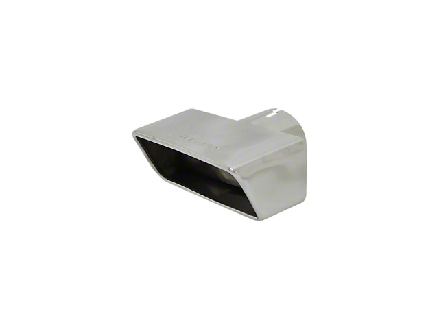 Flowmaster 3-Inch Polished Stainless Exhaust Tip; Driver Side (06-21 All)