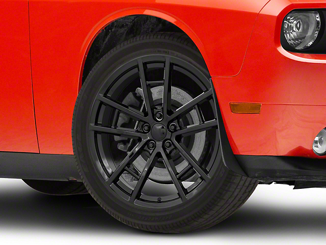 Drag Pack Style Gloss Black Wheel; 20x9 (08-20 All, Excluding AWD)