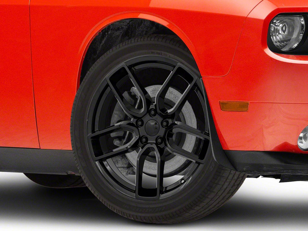 Challenger Hellcat Redeye Style Gloss Black Wheel 20x9 08 21 All Excluding Demon Hellcat